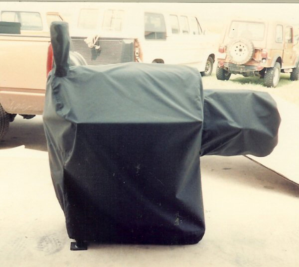 bbq pit cover
