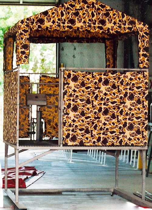 camo deer blinds