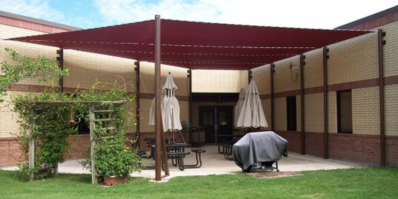 Fabric Patio Shades. Sun Shade As A Leader In Texas Awning And Upholstery  Companies,