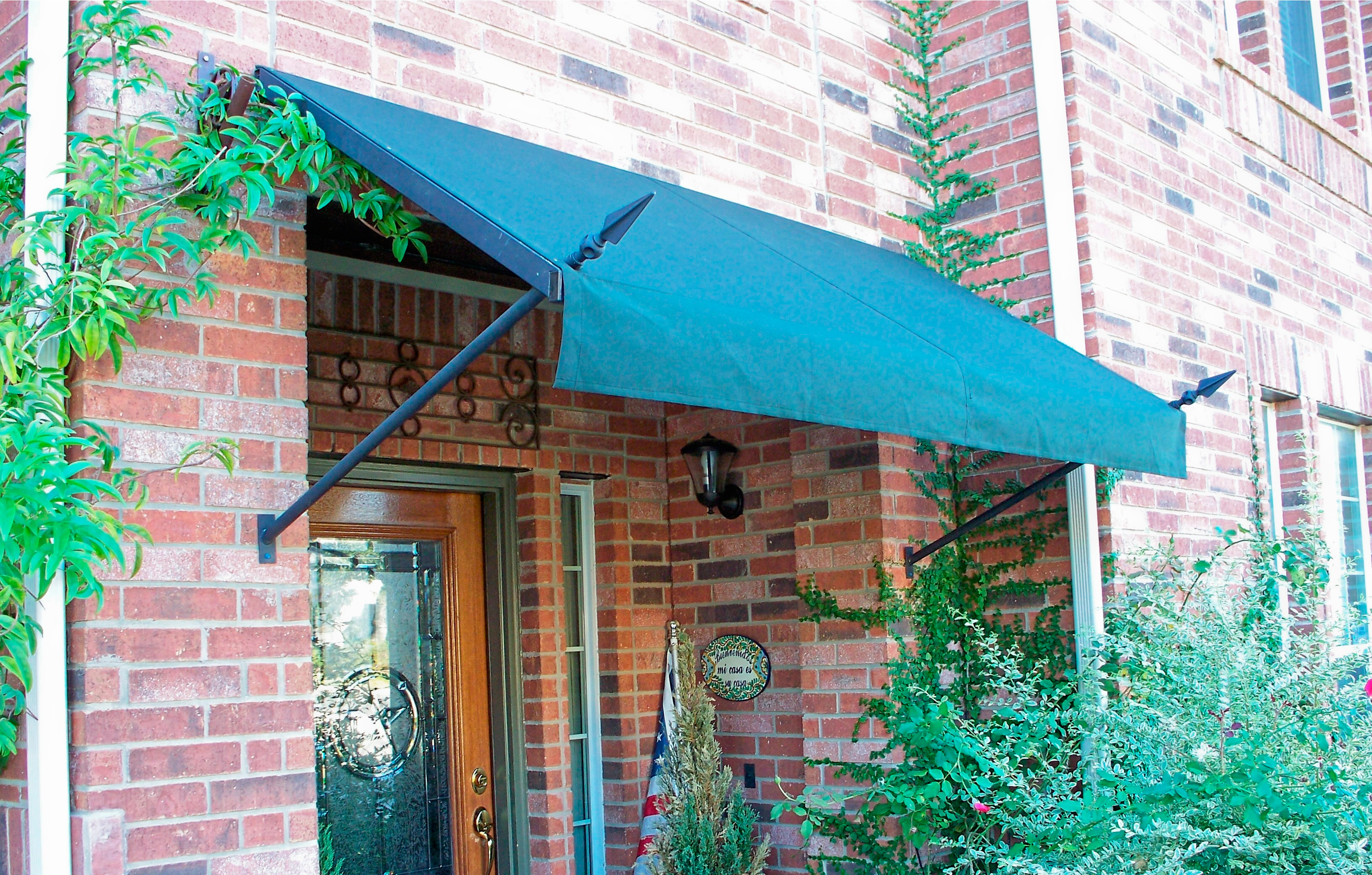 spear head awning