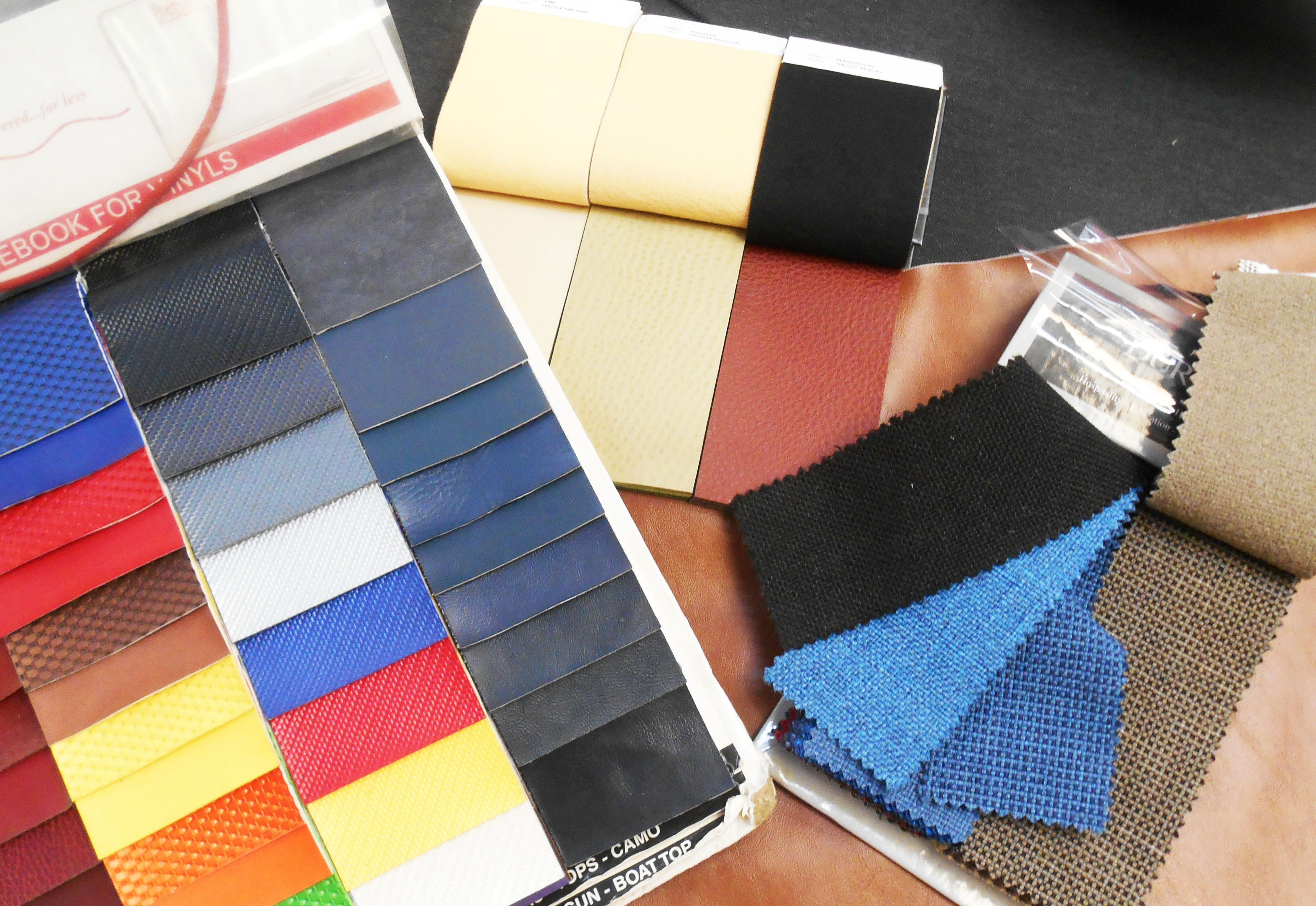 car fabric samples