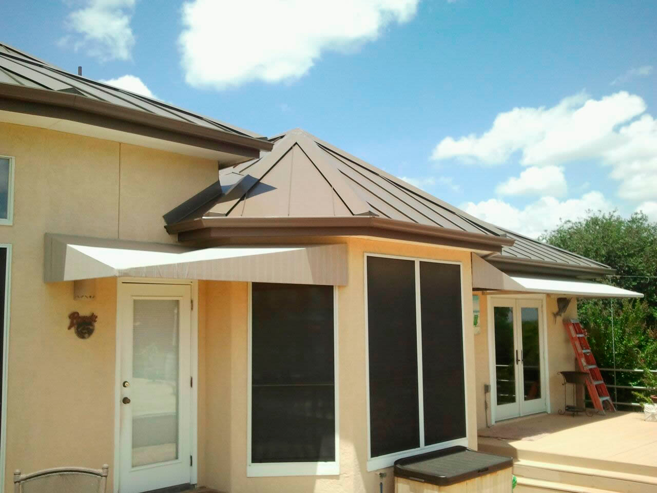 in co residential sc awnings fabric awning door greenville