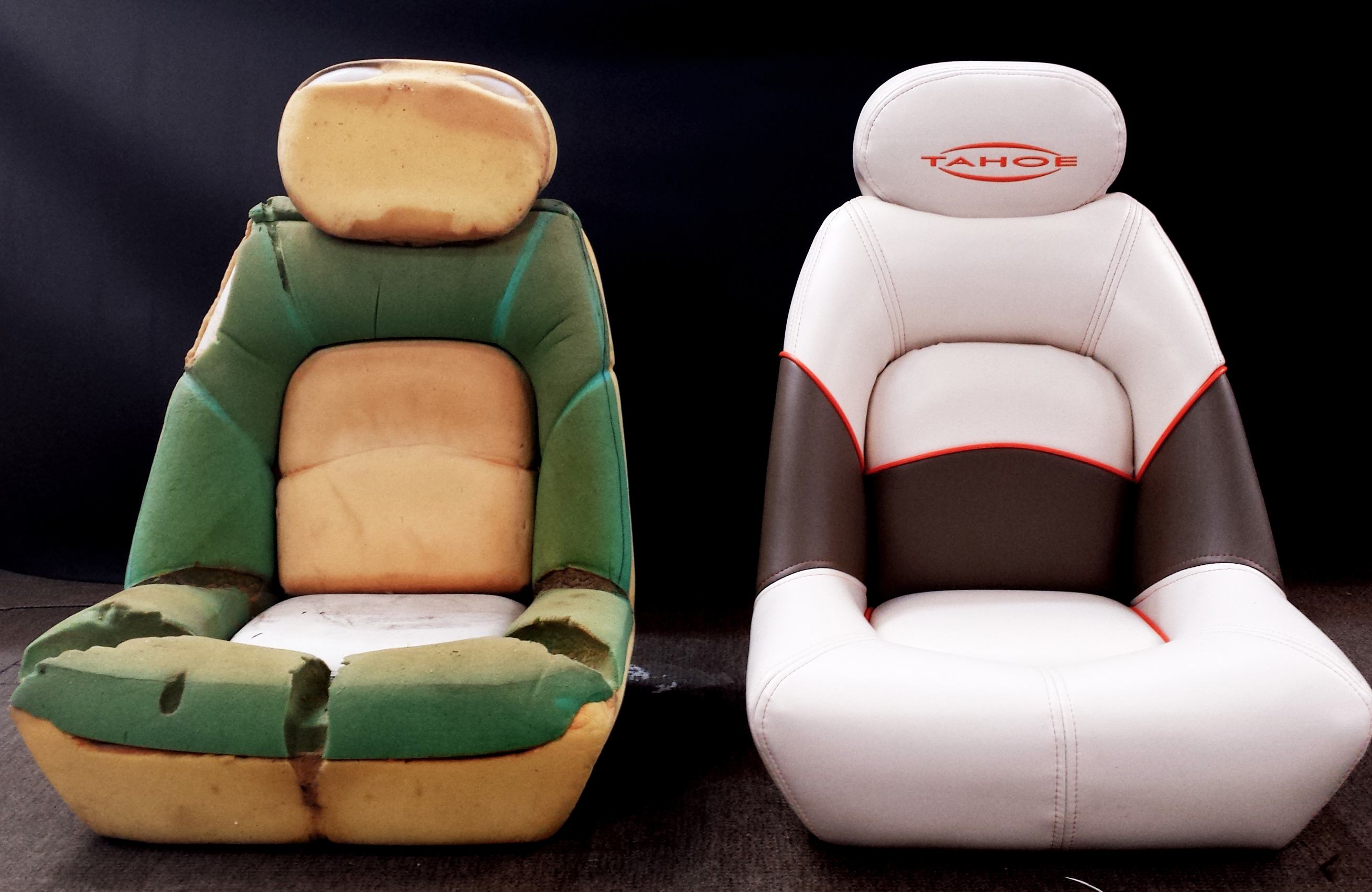 before and after seats for SUV's