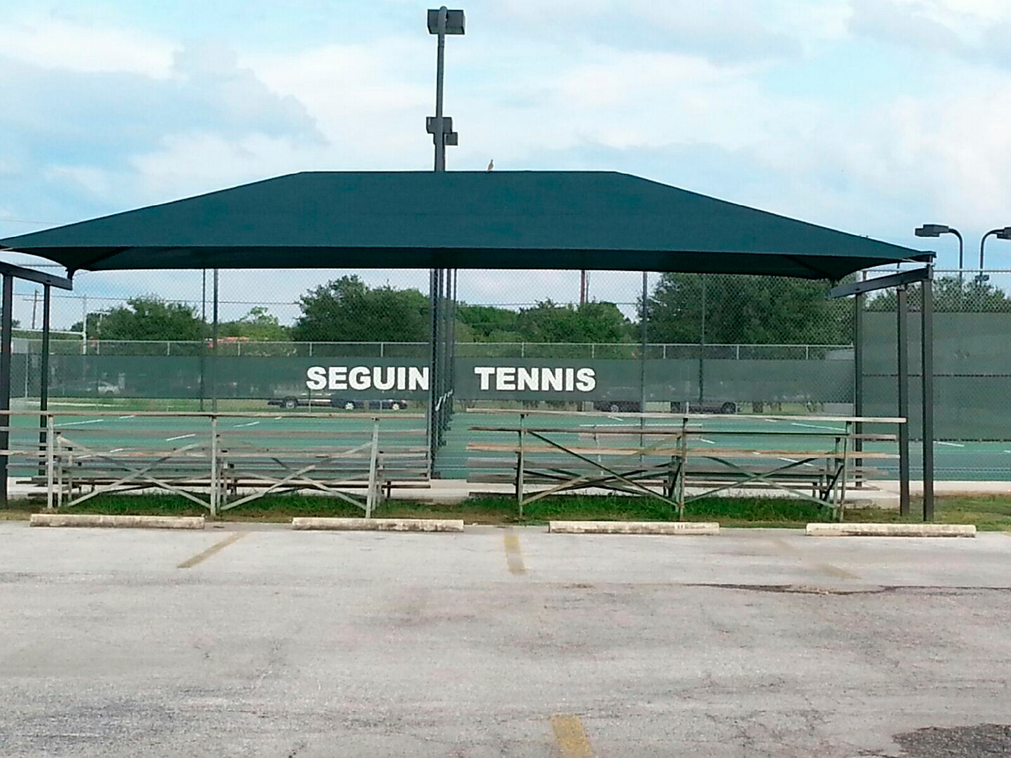 tension over tennis courts