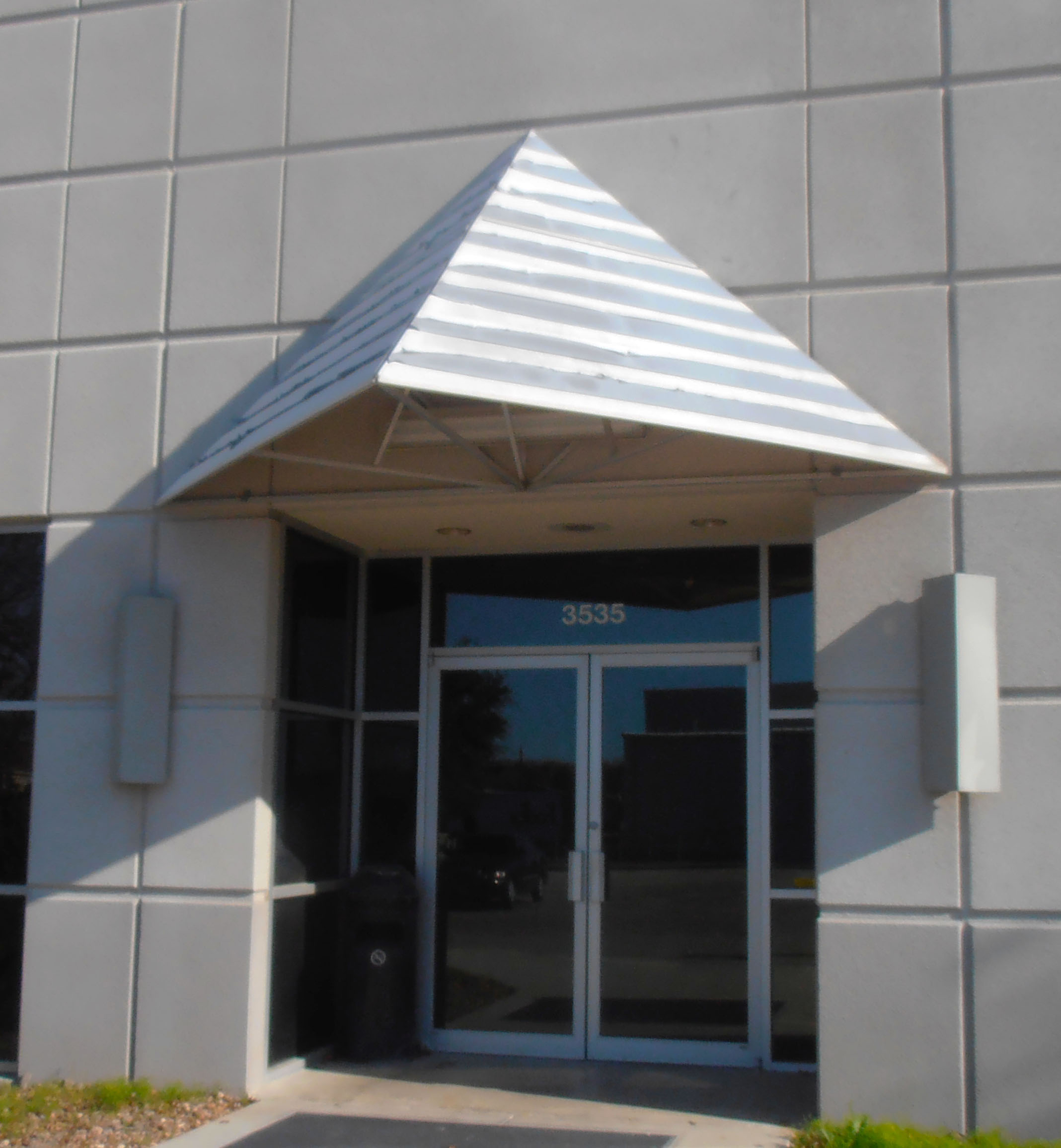 awnings by styles handmade office awning for doors door pin moresun inc custom woodworking
